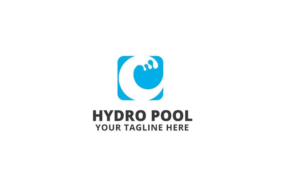 Hydro Pool Logo Template