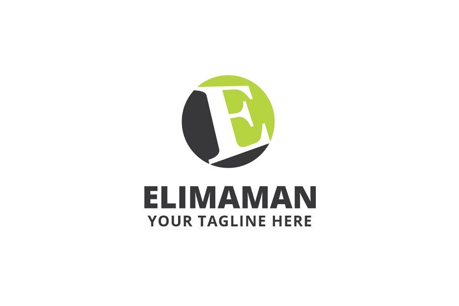 Elimaman Logo Template