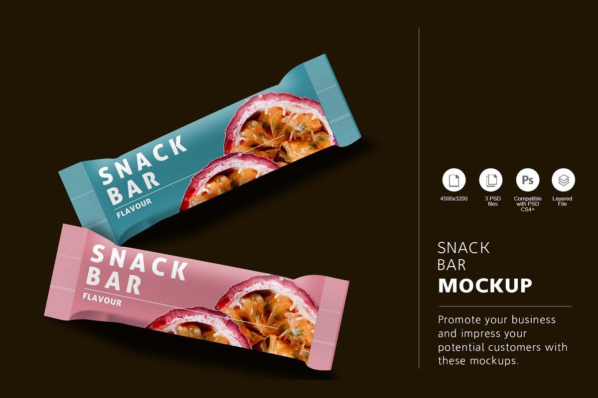 d4e981604d4d Snack Bar Mockup ~ Product Mockups ~ Creative Market