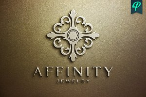 Affinity Jewelry Logo Template