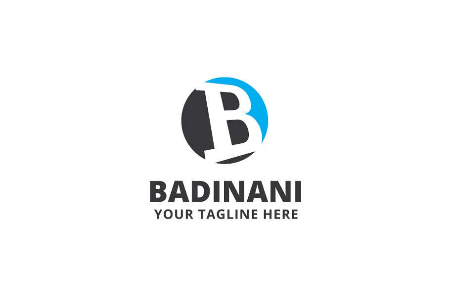 Badinani Logo Template