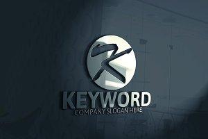 Keyword / K Letter Logo