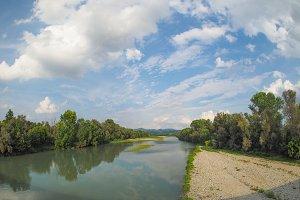 River Po near Turin