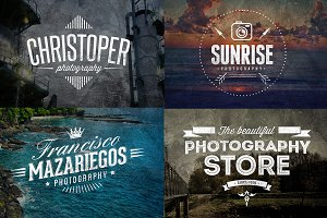 7 Photography Logo Templates