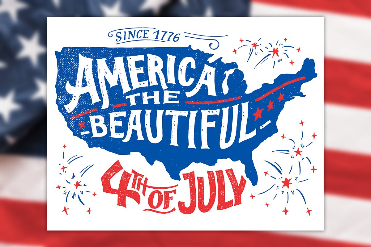 America The Beautiful 4th Of July