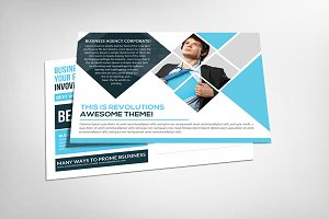 Corporate Business Responsive Card