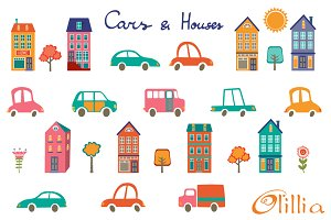 Cars and houses