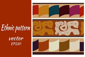 Indian ethnic Abstract seamless text