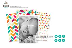New Beginning Birth Announcements