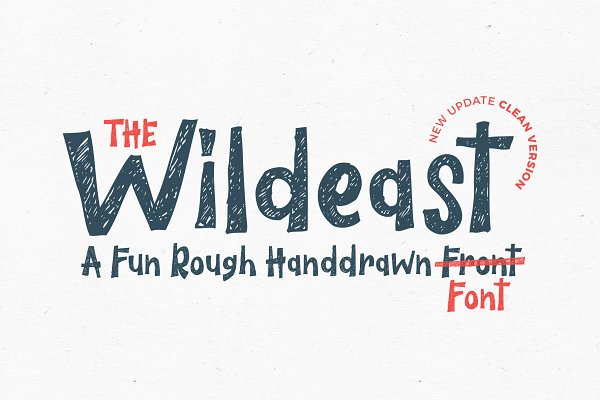 Best The Wildeast Font Vector