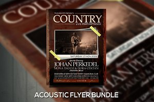 Country flyer / poster