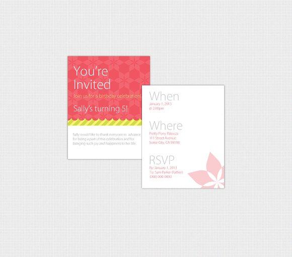 Birthday Invitation Template Print Invitation Templates on – Invitation Templates Birthday