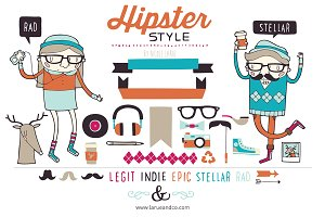 Hipster Style (Vector)