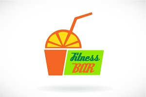 Fitness bar logo