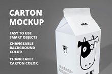 Carton Mockup