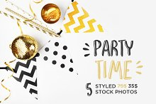 Party styled stock photography
