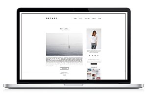 Responsive WP Theme - Decade