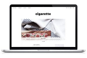 Responsive WP Theme - Cigarette