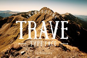 Trave Typeface