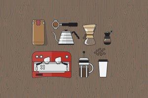 9 Coffee Elements  Part 1 + Bonus