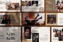 Dromadary Shets Brand Google Slide by  in Google Slides