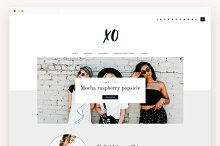 Fashion & Lifestyle Blog Theme - XO by  in WordPress
