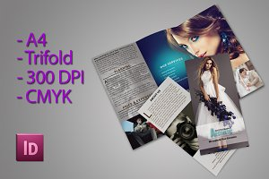 Trifold Brochure For Photographer