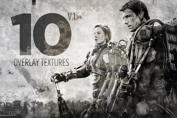 10 Overlay Textures Mock-up V.1