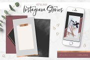Instagram Stories. Backgrounds Pack.