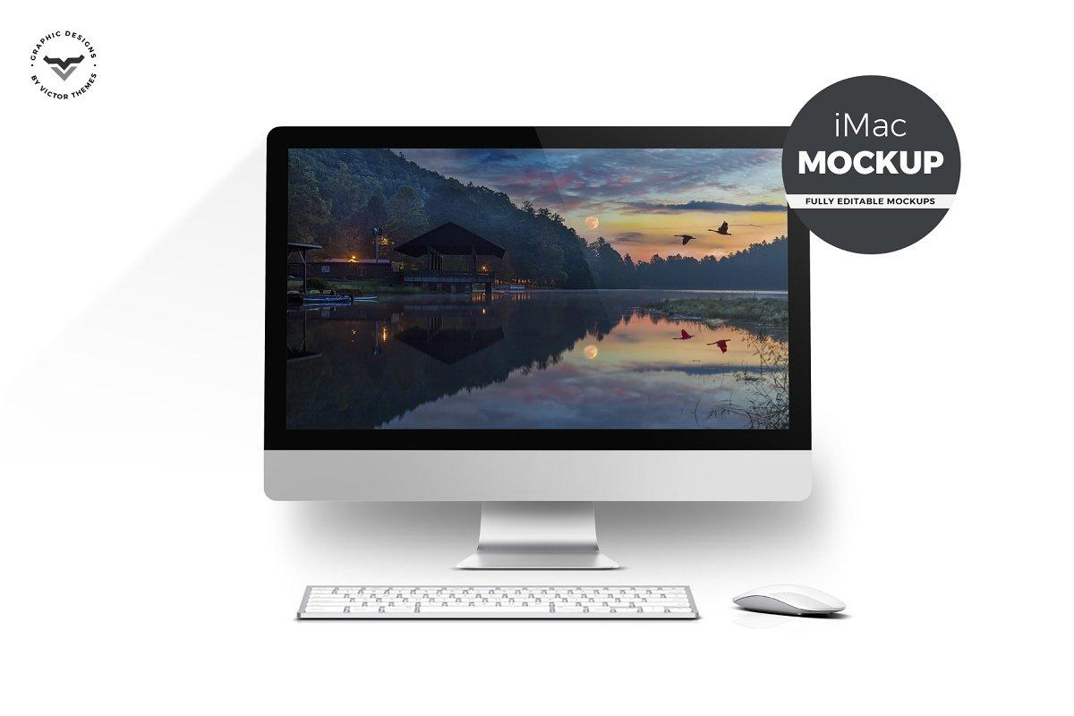 Desktop Mockups with Table