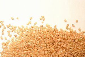 Brown Rice Grains