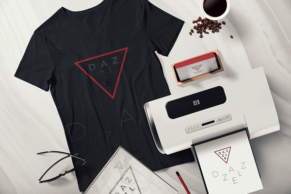 T Shirt Packaging Mockup Free