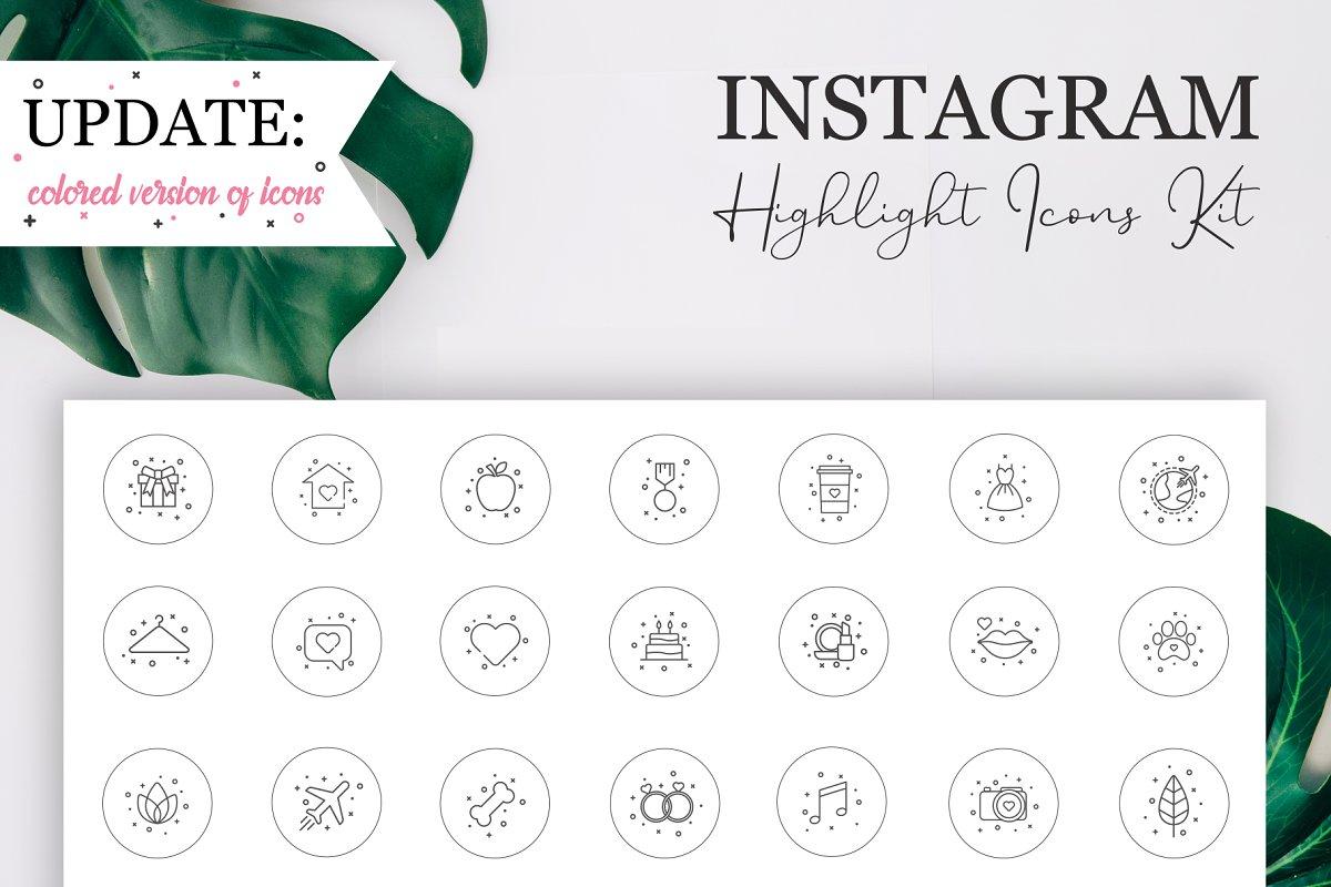 Instagram Highlight Icons Kit