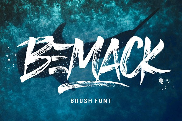 Bemack Brush Font