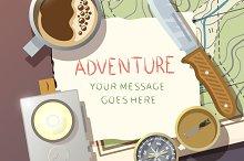 Adventure illustration