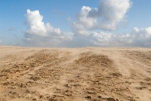 Sandstorm in Denmark
