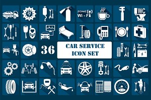 Car service graphic templates