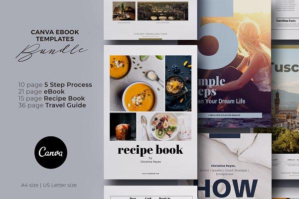 BUNDLE Canva eBook Templates