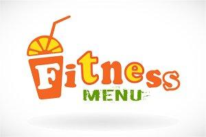 Fitness bar menu