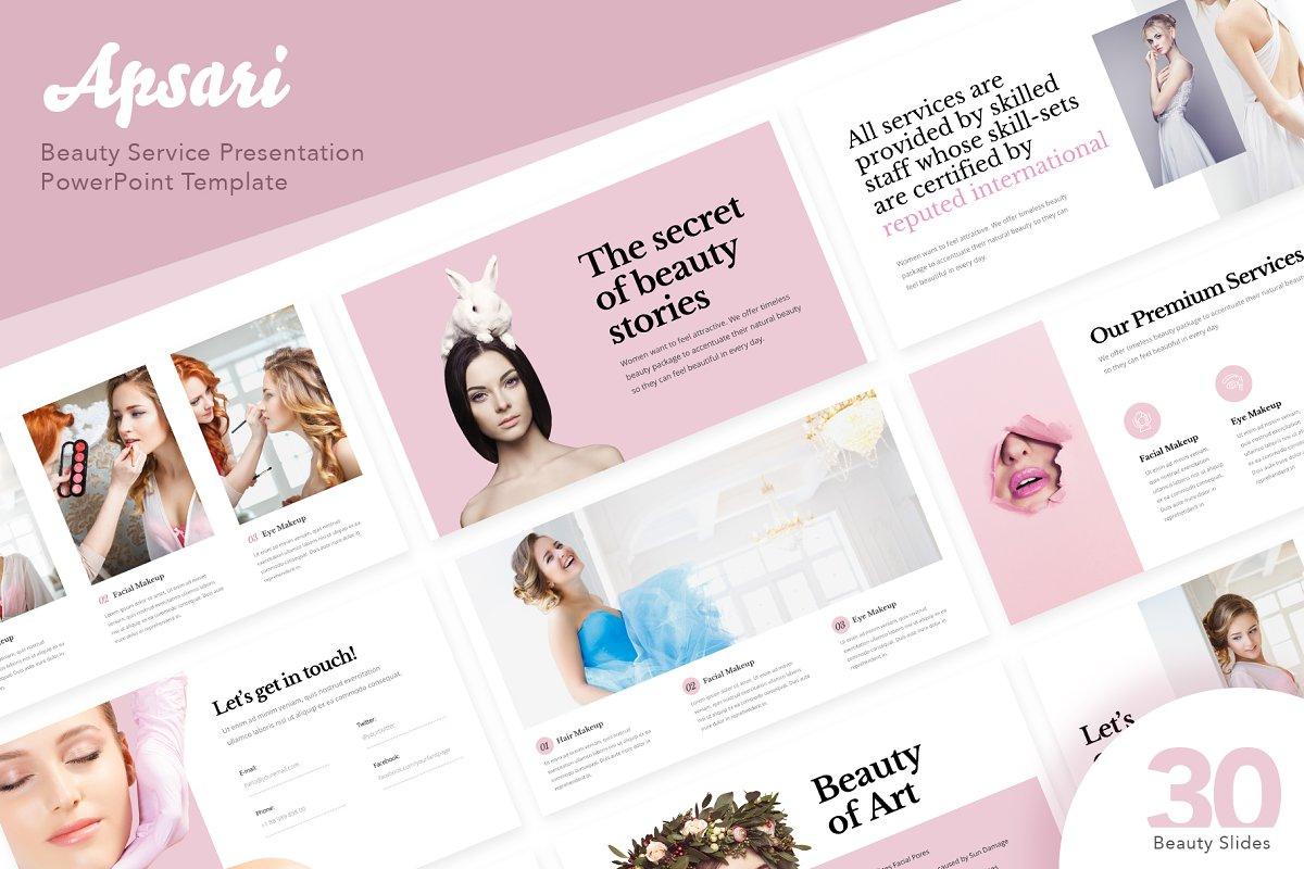 Apsari Beauty Services Powerpoint