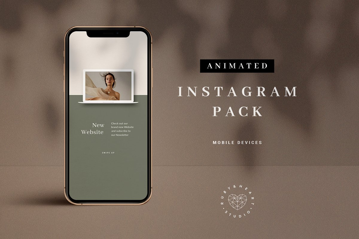 Animated Mobile Device Insta Pack