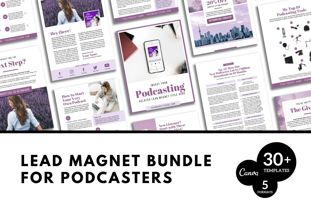 Lead Magnets for Podcasters in Email Templates - product preview 8