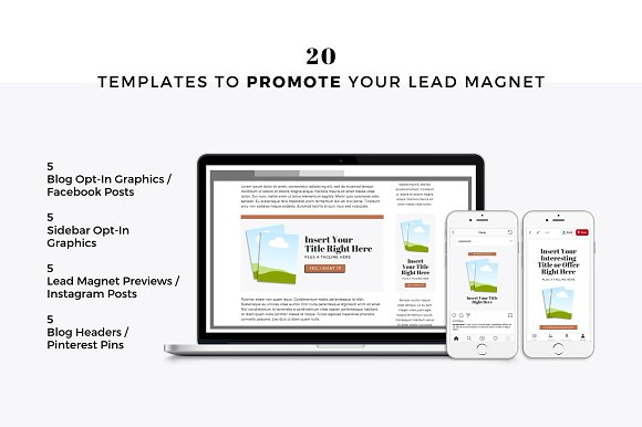 Lead Magnets for Podcasters in Email Templates - product preview 2