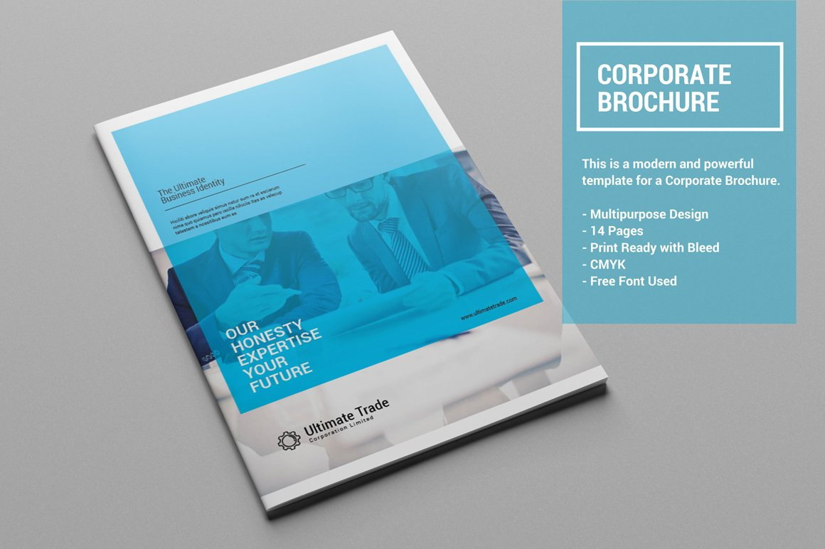corporate brochure design - corporate brochure 20 off brochure templates