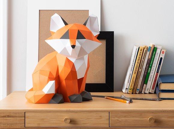 103 Best Origami foxes images | Origami, Origami animals, Origami ... | 430x580