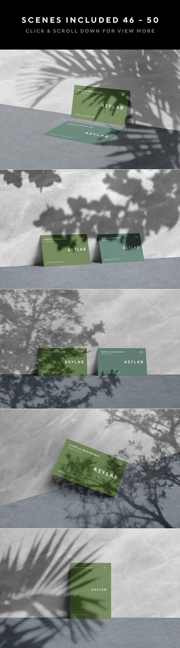100 Branding Stationery Mockups in Branding Mockups - product preview 24