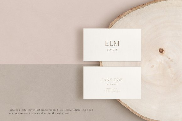 Elm - Business Card Mockup Kit in Branding Mockups - product preview 14
