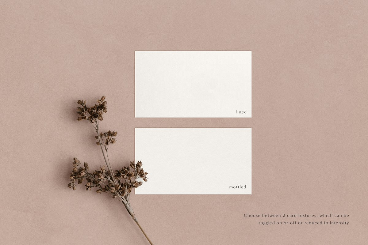 Elm - Business Card Mockup Kit