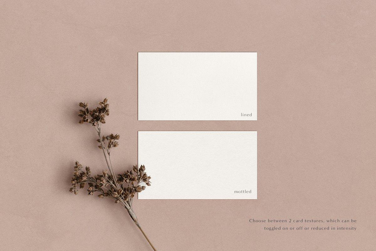 Elm - Business Card Mockup Kit in Branding Mockups
