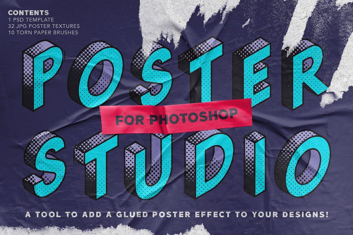 Poster Studio for Photoshop